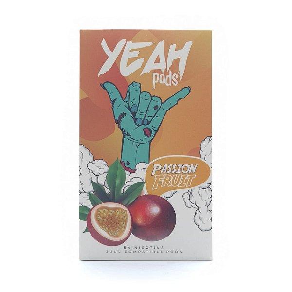 Pod (Cartucho) c/ Líquido Passion Fruit p/ Yoop & Juul | Yeah