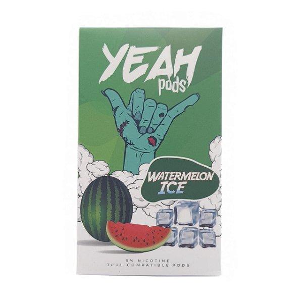 Pod (Cartucho) c/ Líquido Watermelon Ice p/ Yoop & Juul   Yeah