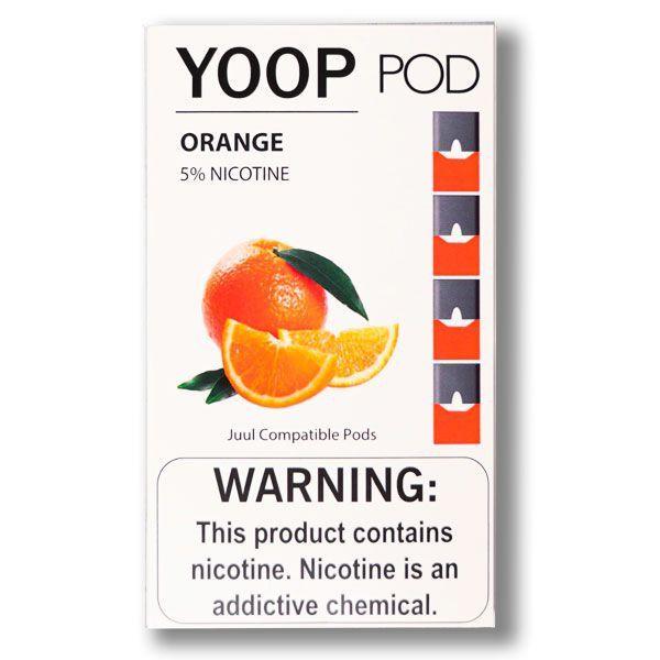 Pod (Cartucho) de Reposição (c/ Líquido) Orange p/ Yoop & Juul - Yoop