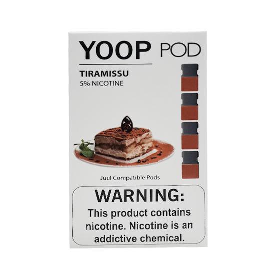 Pod (Cartucho) c/ Líquido Tiramissu p/ Yoop & Juul | Yoop
