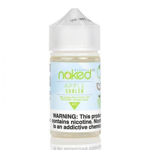 Líquido Apple Cooler Menthol | Naked 100
