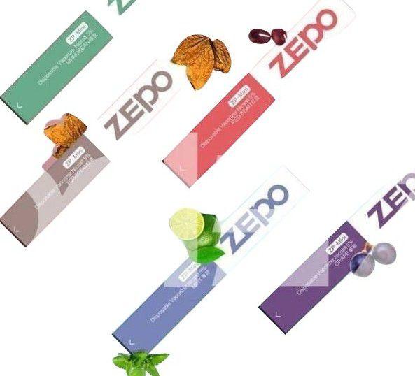 Pod System Descartável (Disposable Vaporizer Nicsalt)   Zepo