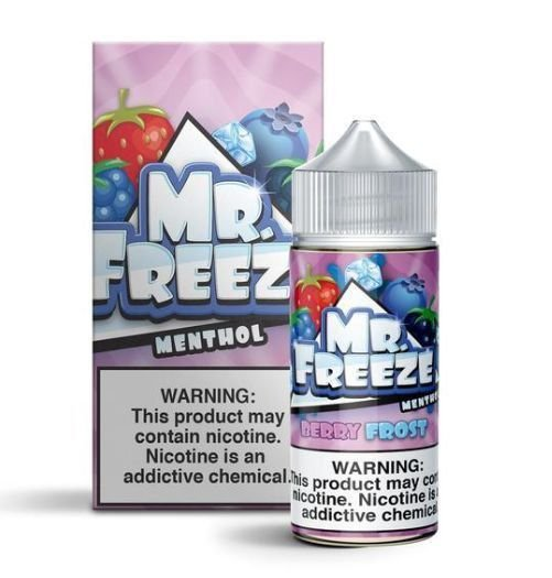 Líquido Berry Frost - Mr. Freeze