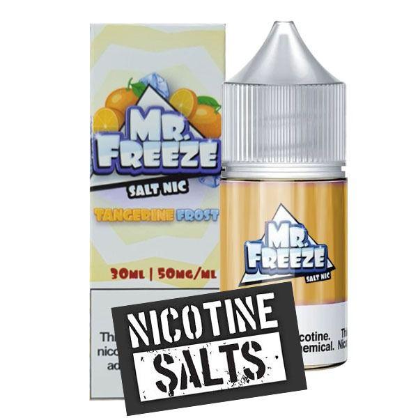 Líquido Tangerine - Frost - Mr. Freeze SaltNic