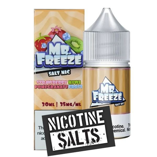 Líquido Strawberry Kiwi Pomegranate - Frost - Mr. Freeze SaltNic