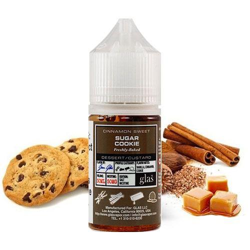 Líquido Sugar Cookie - SaltNic / Salt Nicotine | Glas