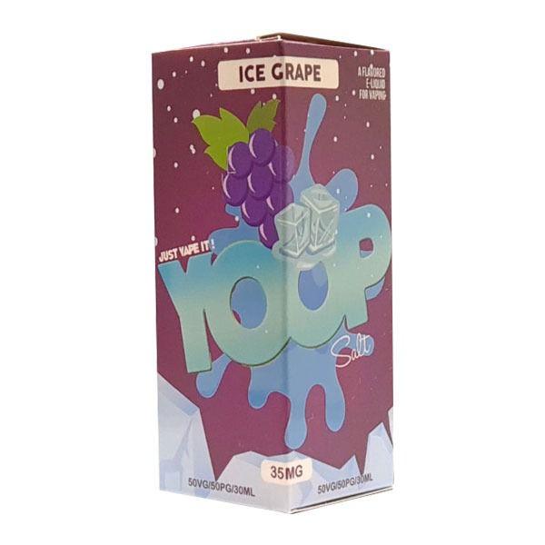 Líquido Ice Grape - SaltNic / Salt Nicotine - YOOP