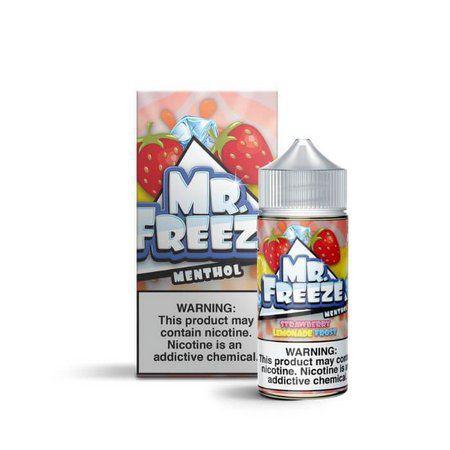 Líquido Strawberry Lemonade Frost - Mr. Freeze