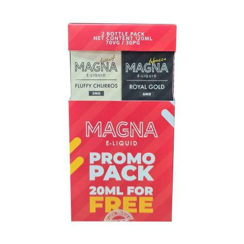 Líquido Royal Gold / Fluffy Churros (PROMO PACK) - Magna