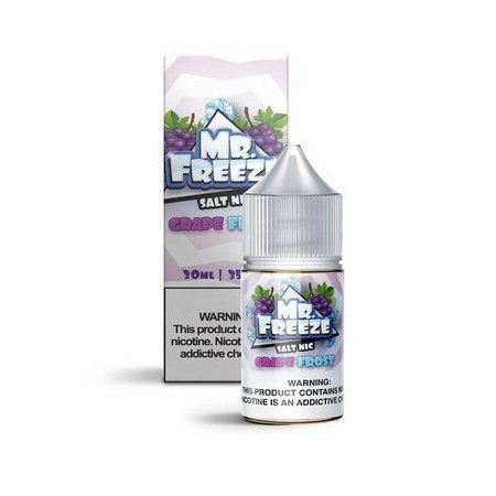 Líquido Grape (Frost) - SaltNic / Salt Nicotine | Mr. Freeze