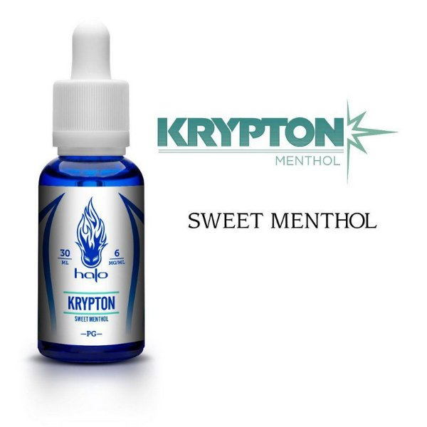 Líquido Krypton Sweet Menthol - White Series - Halo Cigs