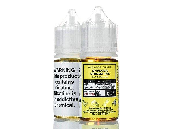 Líquido Banana Cream Pie - SaltNic / Salt Nicotine   Glas