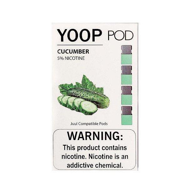 Pod (Cartucho) c/ Líquido Cucumber p/ Yoop & Juul | Yoop