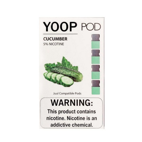 Pod c/ Líquido - Cucumber - Yoop