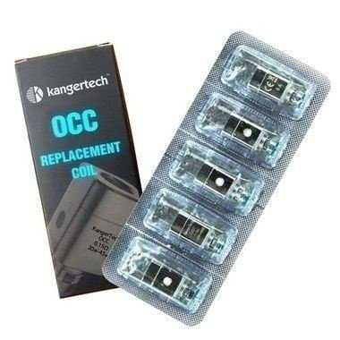 Pack com 5 Bobinas para SUBTANK - Ni200 OCC - KangerTech