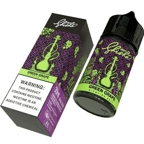 Líquido Green Grape (Shisha) - SaltNic / Salt Nicotine | Nasty Juice