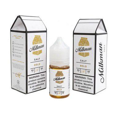 Líquido Gold - SaltNic / Salt Nicotine   The Milkman