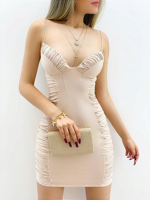 Vestido Franzido