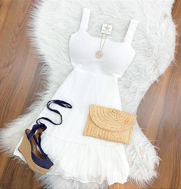 Vestido Viscose Regata