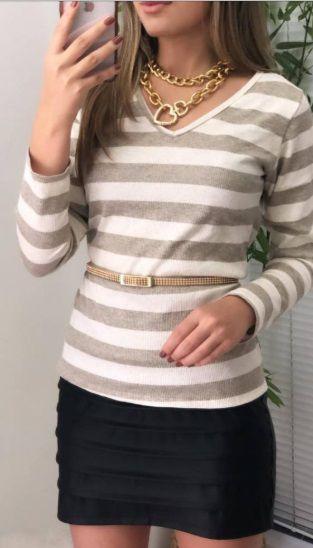 Blusa Lãzinha Listras