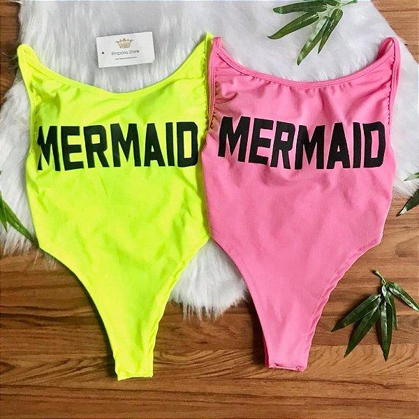 Body Tumblr Mermaid (Diversas Cores)