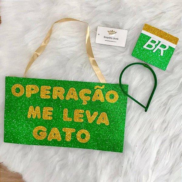 Kit Carnaval Leva Gato