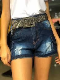 Shorts Bolsos Jeans