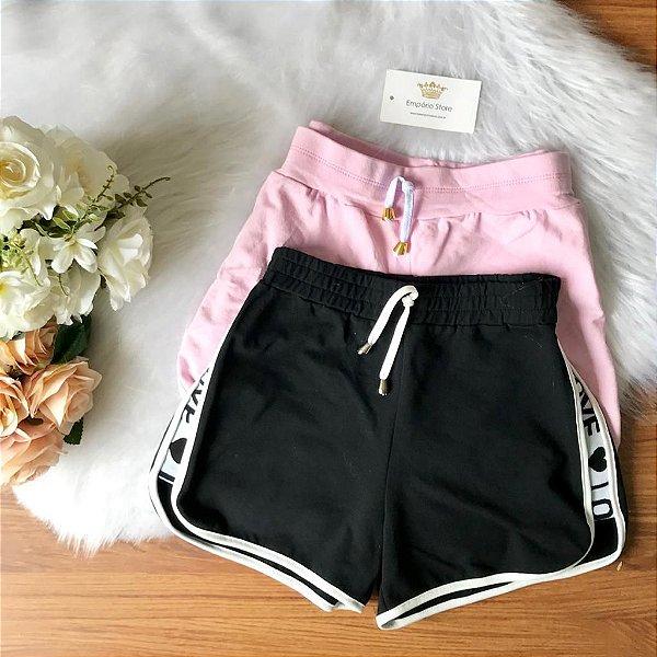 Shorts Love Crepe