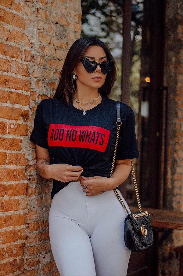 T-Shirt Add no Whats