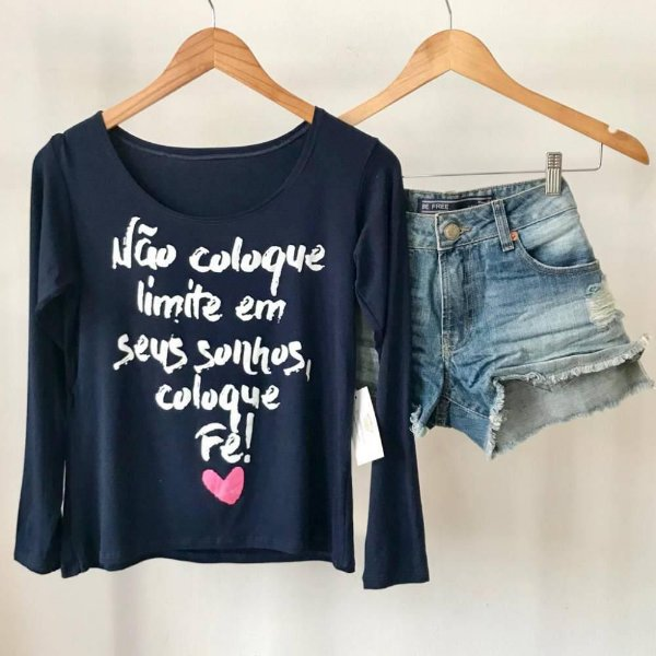 T-Shirt Não coloque Limites