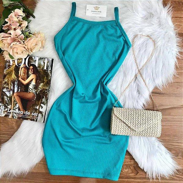 Vestido Alcinha Azul