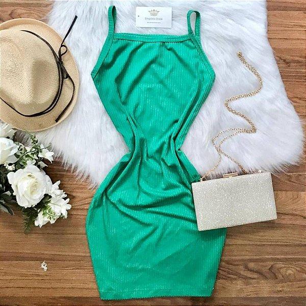 Vestido Alcinha Verde
