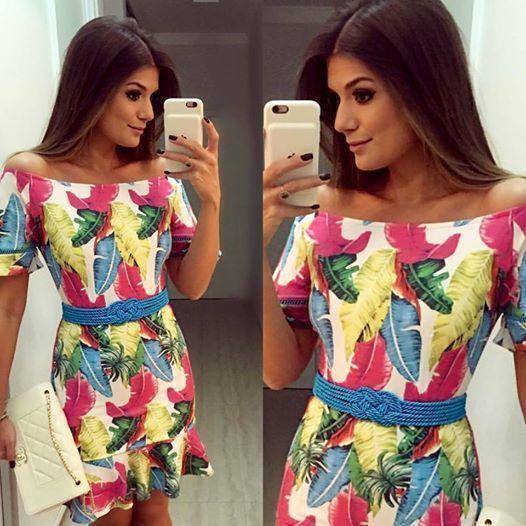 Vestido Birdcolors Ana Hova #Oficial