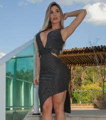 Vestido Brigite Lurex