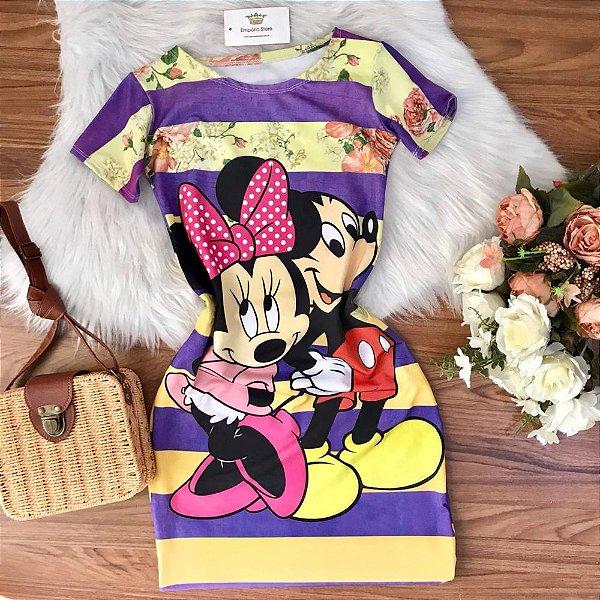Vestido Casal Mickey