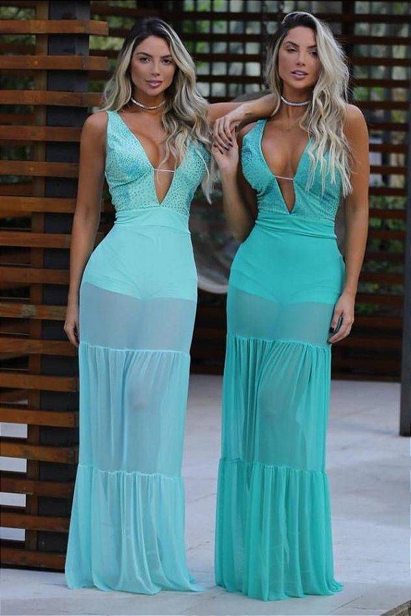 Vestido Dua Tule