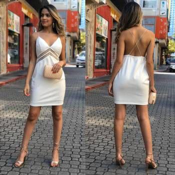 Vestido Lane Ponto Roma