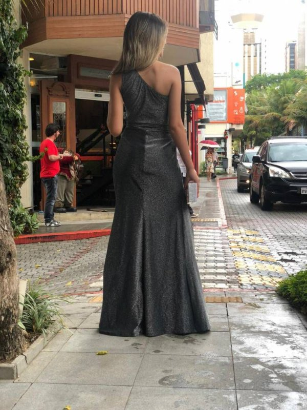 Vestido Louise Lurex