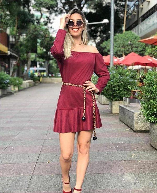 Vestido Rana Suede