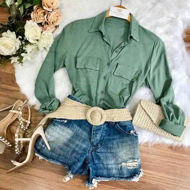 Camisa Linho (Diversas Cores)