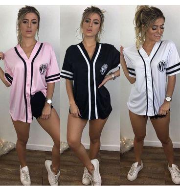 Camisa NYC Baseball Poliéster