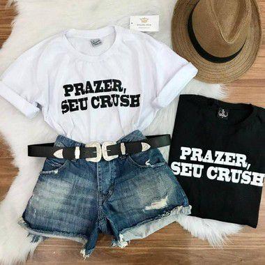 Camiseta Prazer Seu Crush