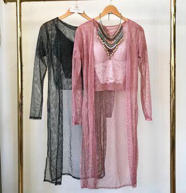 Conjunto Kimono + Cropped