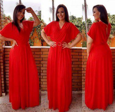 Vestido Valdete Poliamida (Diversas Cores)