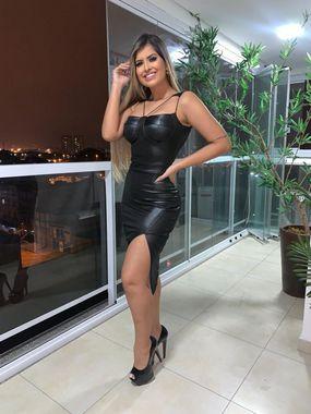 Vestido Alexa Vinil