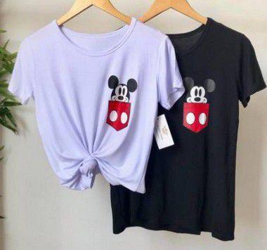 T-shirt Mickey Viscomalha