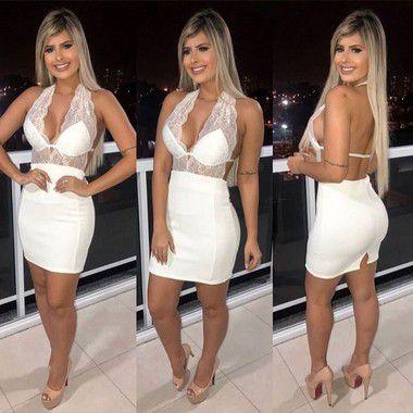 Vestido Maria Antonia Crepe (Diversas Cores)