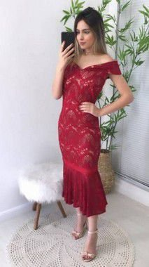 Vestido Renda Aryane