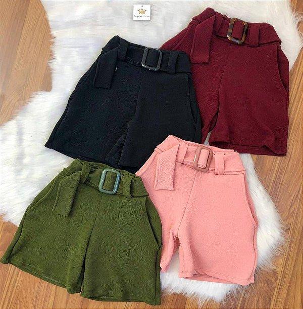 Shorts Crepe