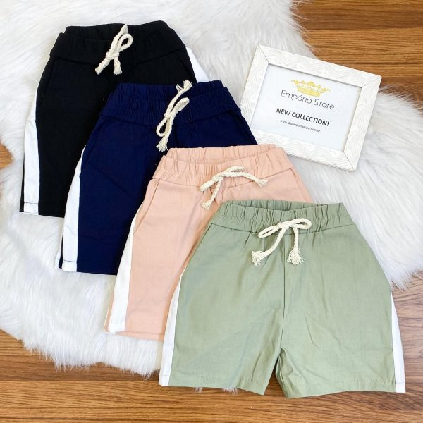 Shorts Bengaline (Diversas Cores)